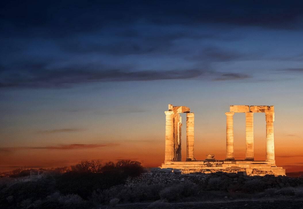 Olympian Gods - Temple of Poseidon Cape Sounio