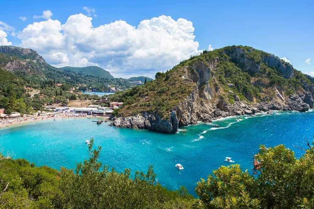 Palaiokastritsa Corfu Greek Islands