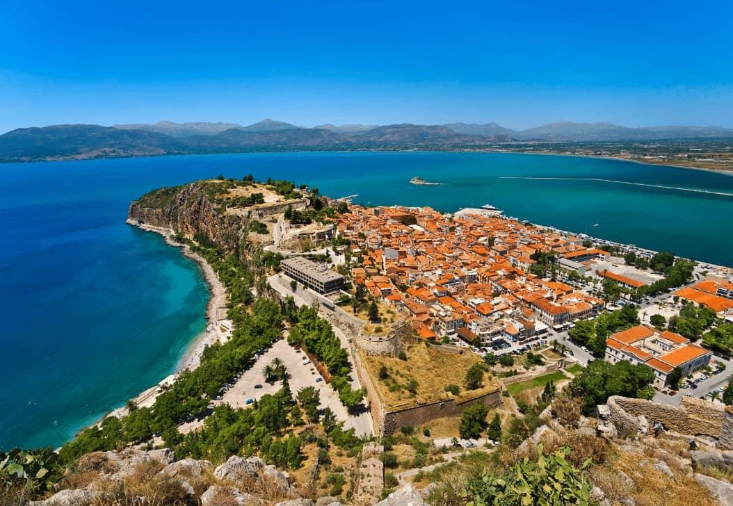 Palamidi Fortress in Nafpion Peloponnese
