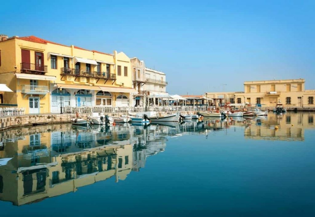 Rethimno Harbour - Crete