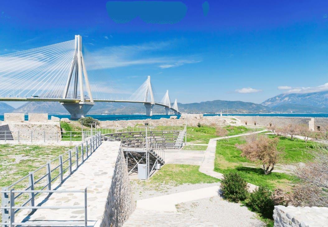 Rio Castles in Peloponnese
