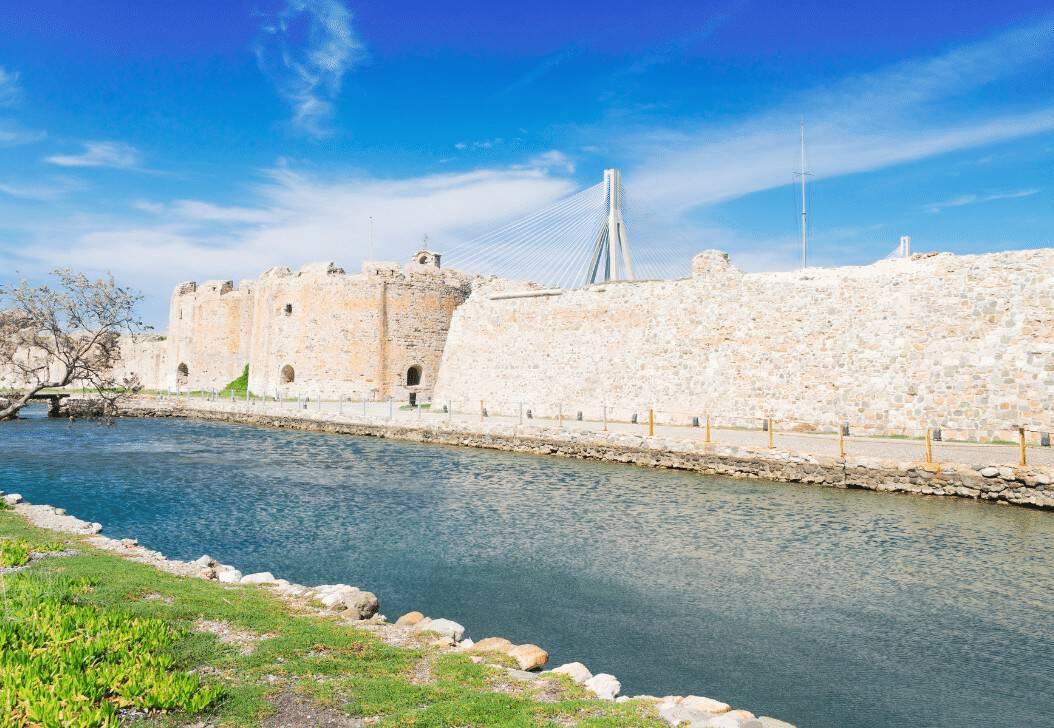 Rio Castles Peloponnese