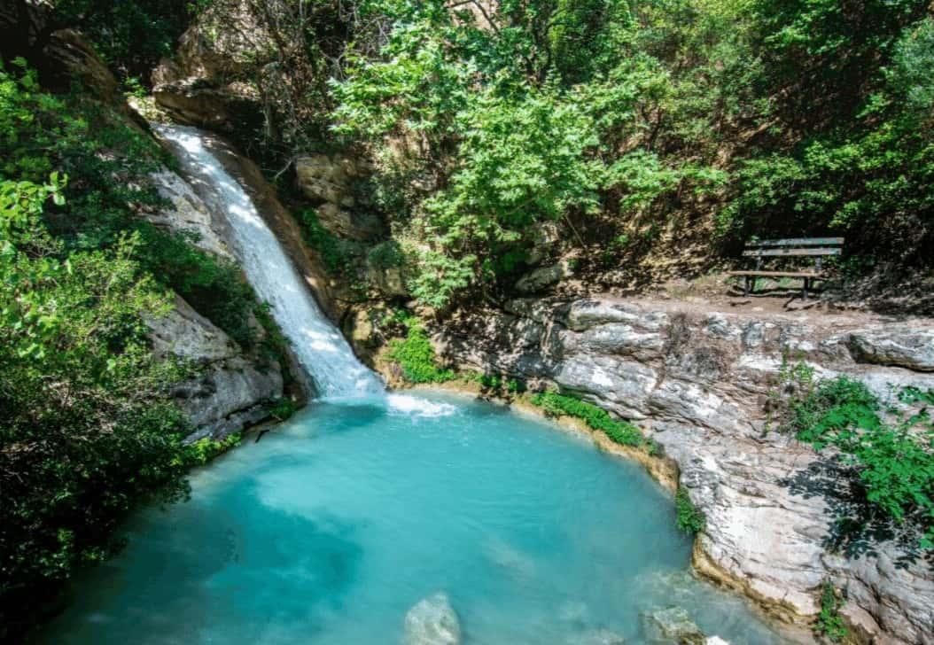 Road trip Peloponnese Neda Waterfalls