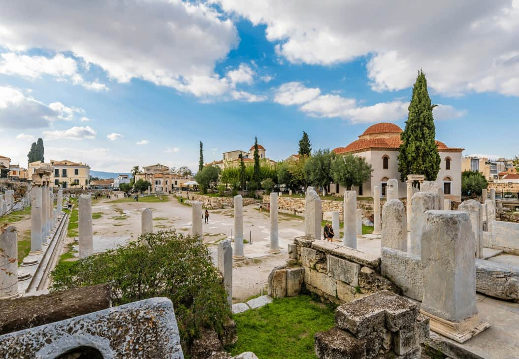 Roman Agora in Athens