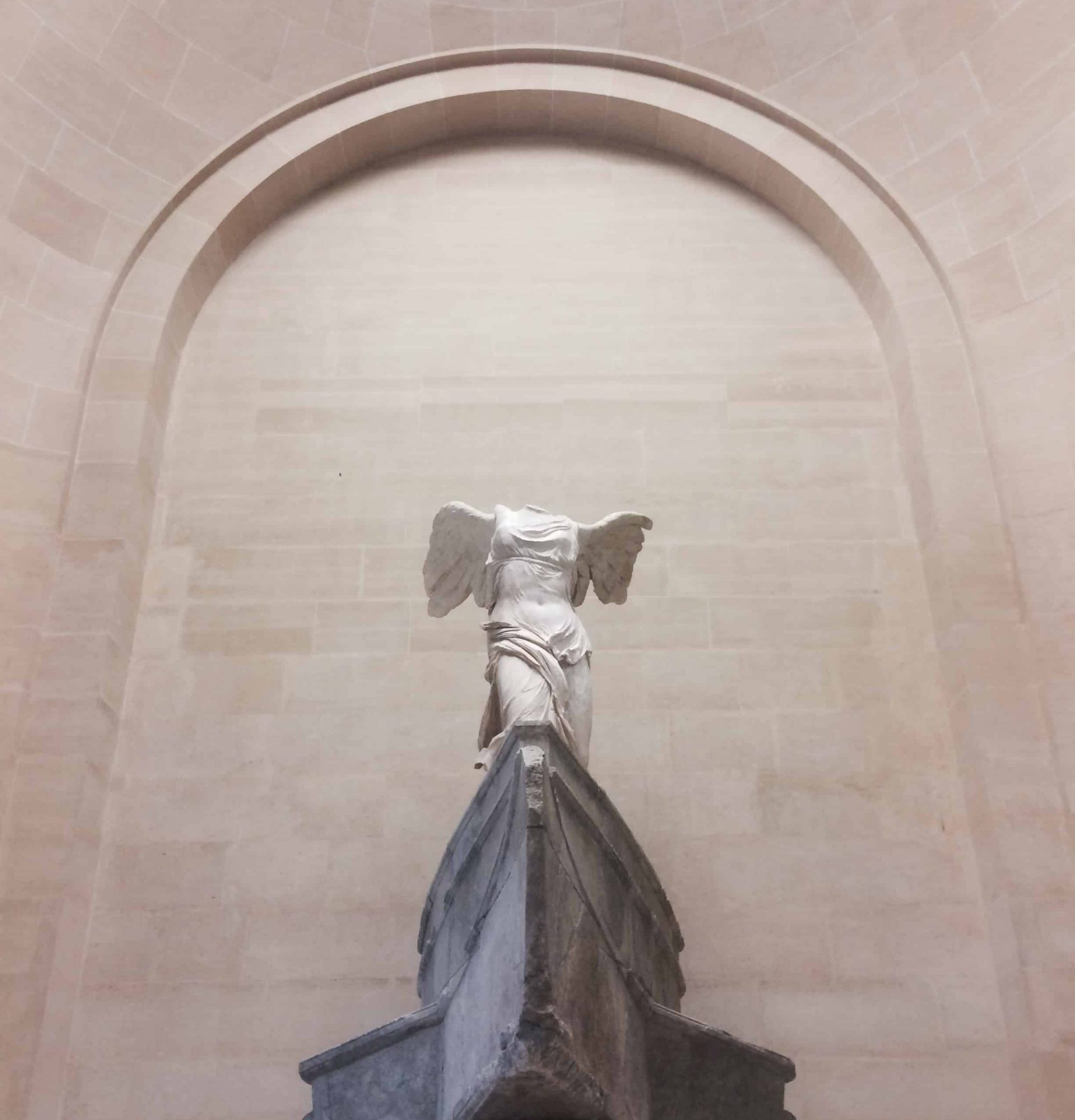 Nike of Samothrace in the Louvre