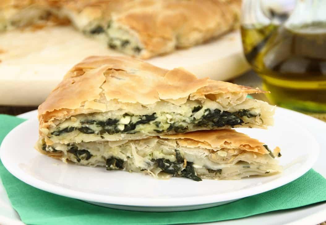 Spanakopita Traditional Food