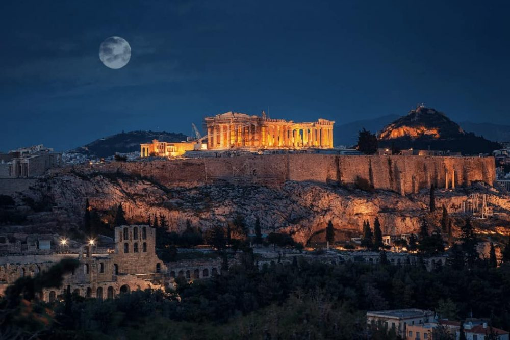 Summer in Acropolis Definitely Greece