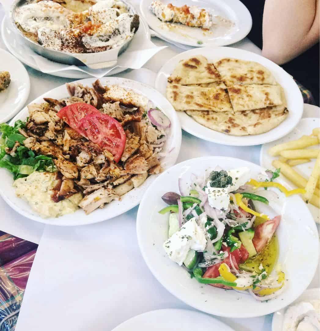 Souvlaki Traditional Food Definitely Greece
