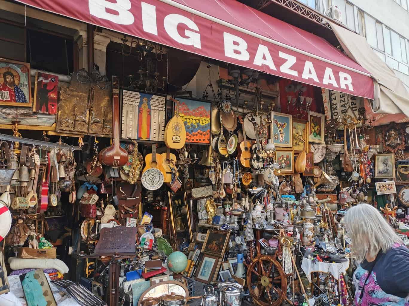 Market in Athens Definitely Greece
