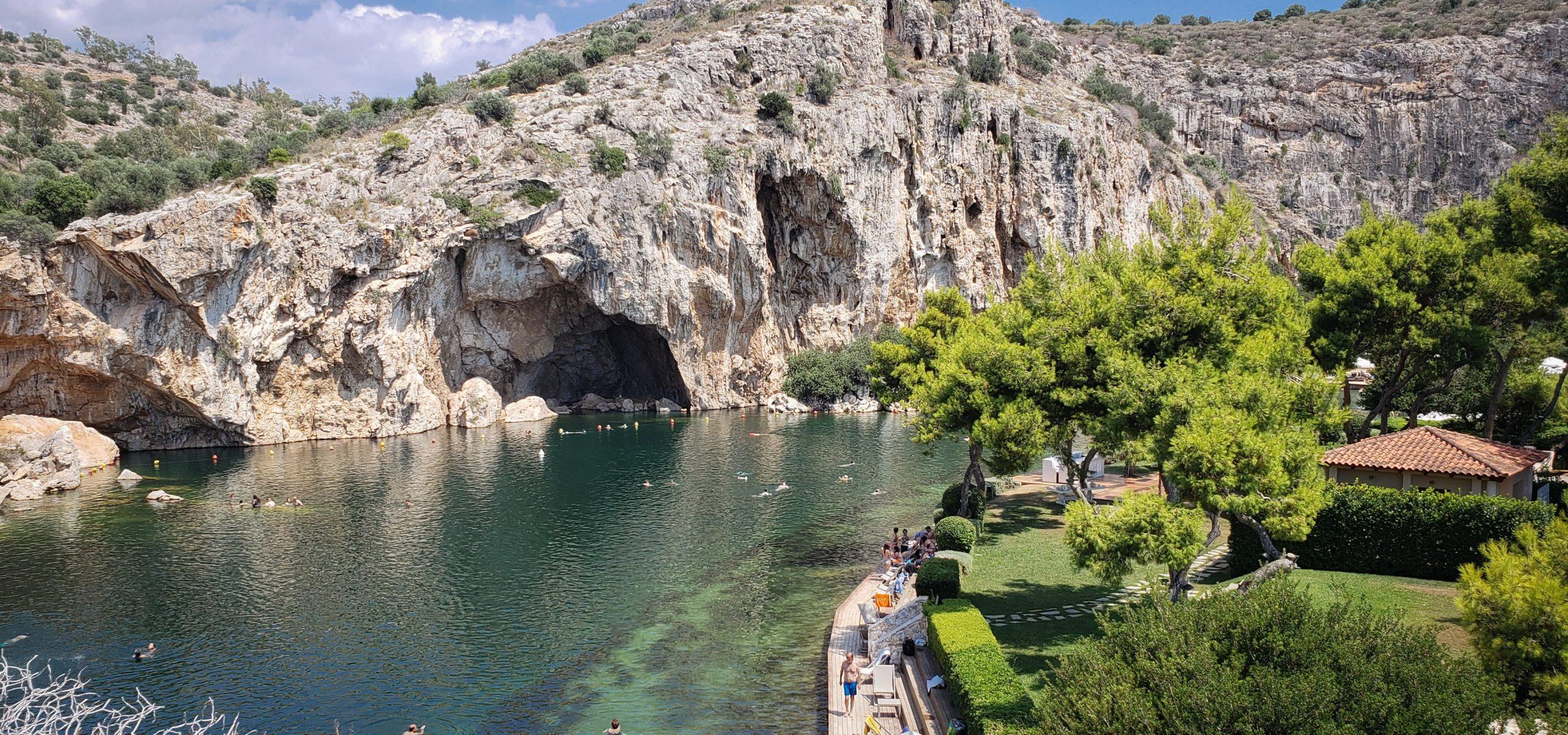 Vouliagmeni lake in Athens