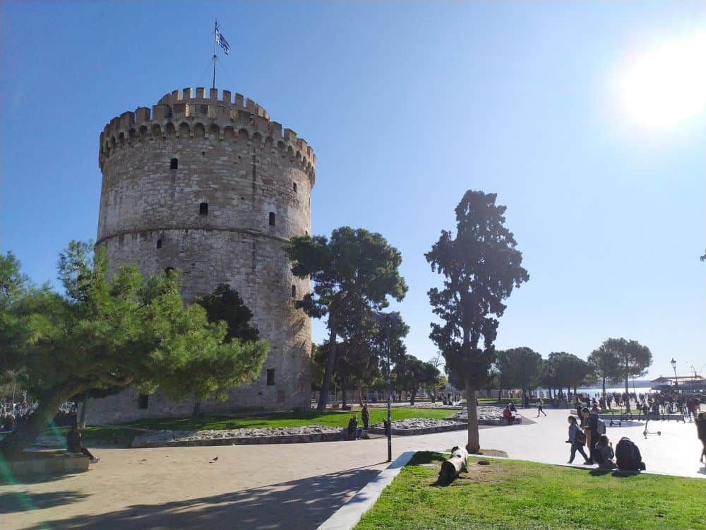Travel Advice Greece White Tower Thessaloniki