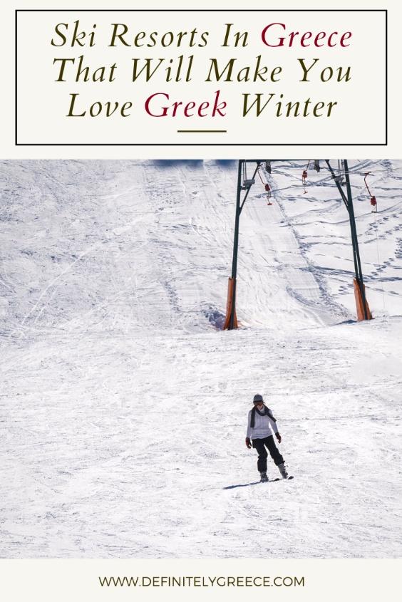 ski resorts greece