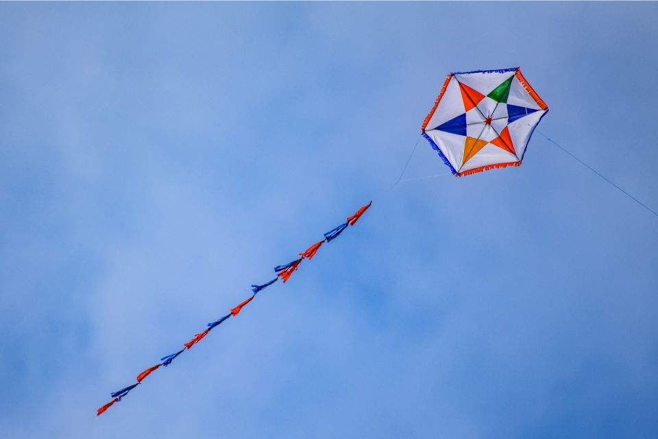 Flying Kite Clean Monday