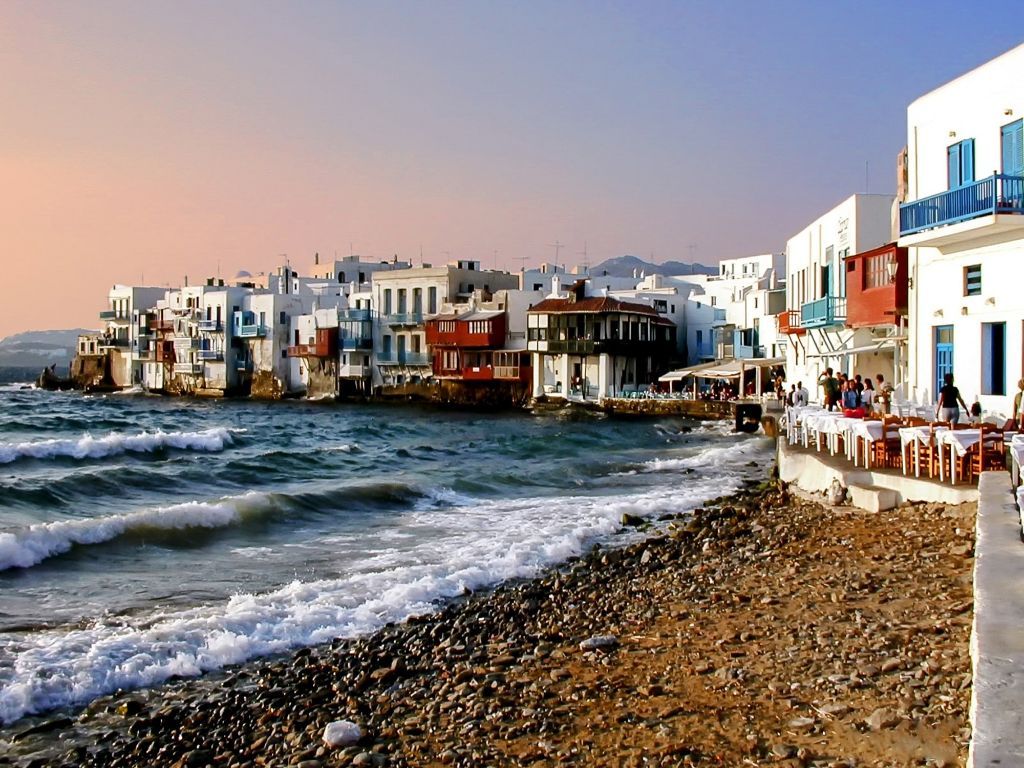 Mykonos Ideal Greek Island Greece