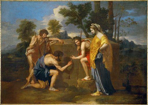 Nicolas Poussin Et in Arcadia