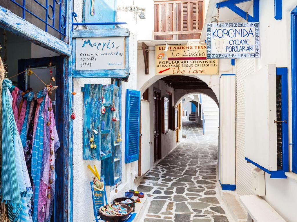 Chora-old-town-naxos-village-alleyway
