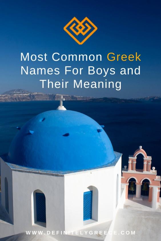 common names for greek boys