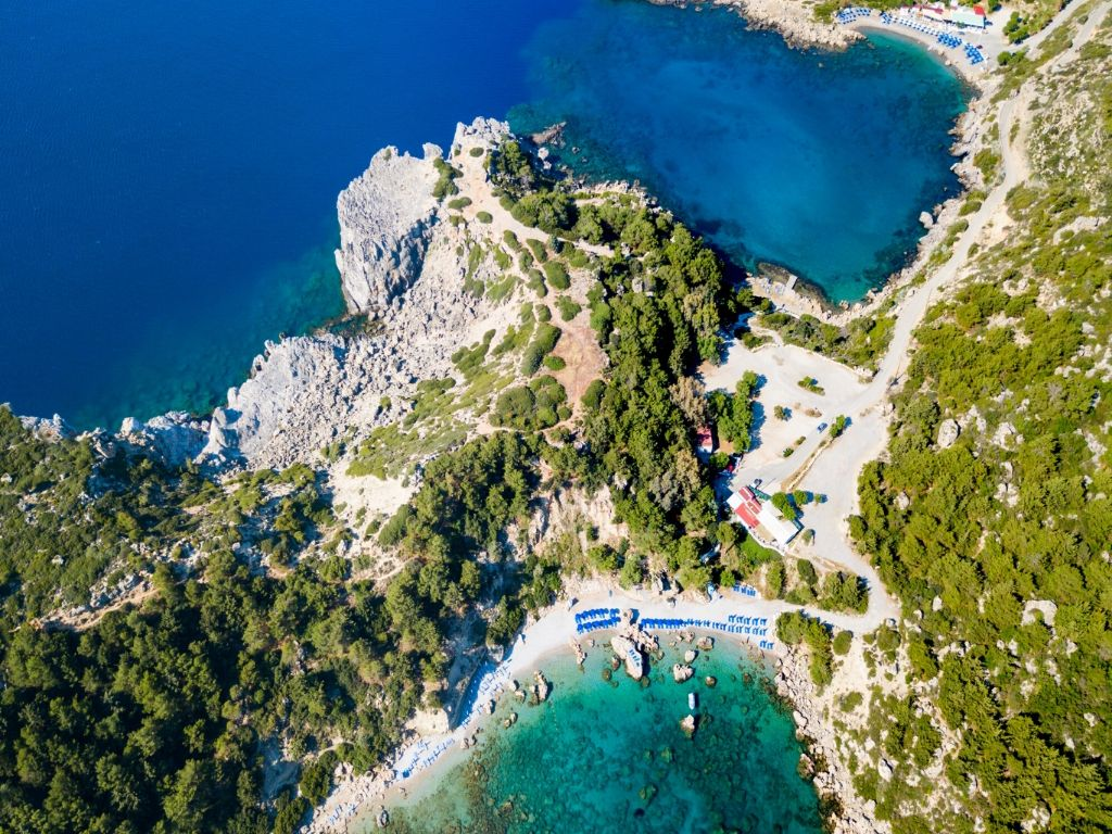 Anthony Quinn Bay - Scuba Diving in Greece Rhodes