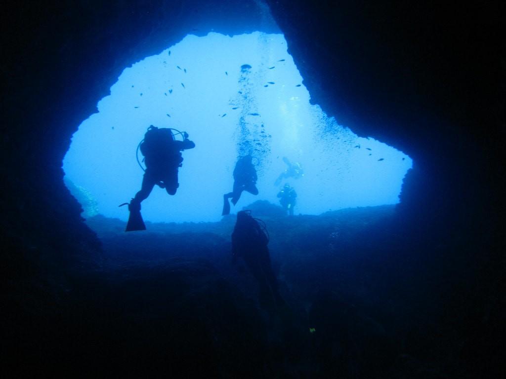Scuba Diving in Greece - Elephant Cave - Underwater