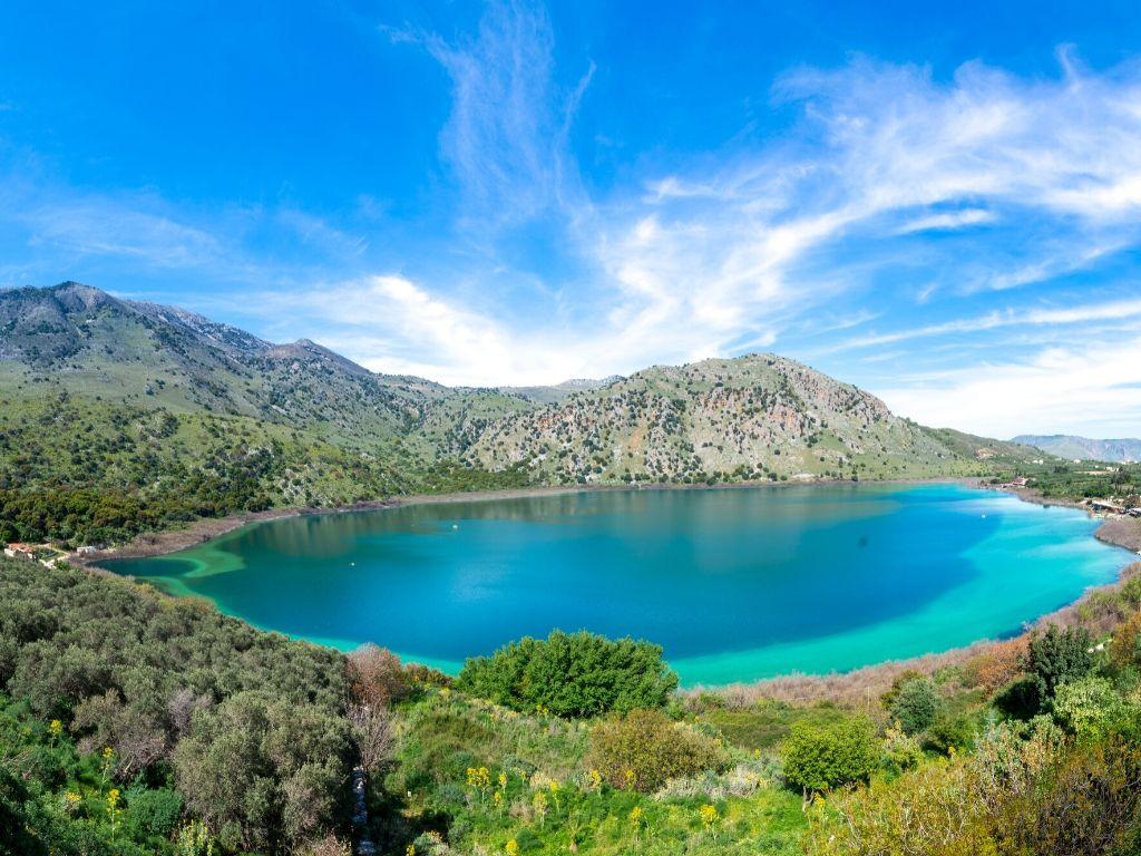 Lake-Kournas-Crete