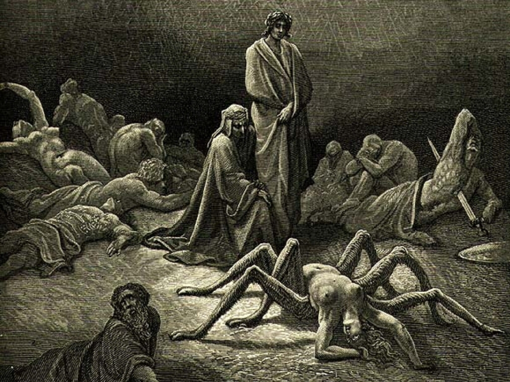 Arachne-spider-greek-mythology