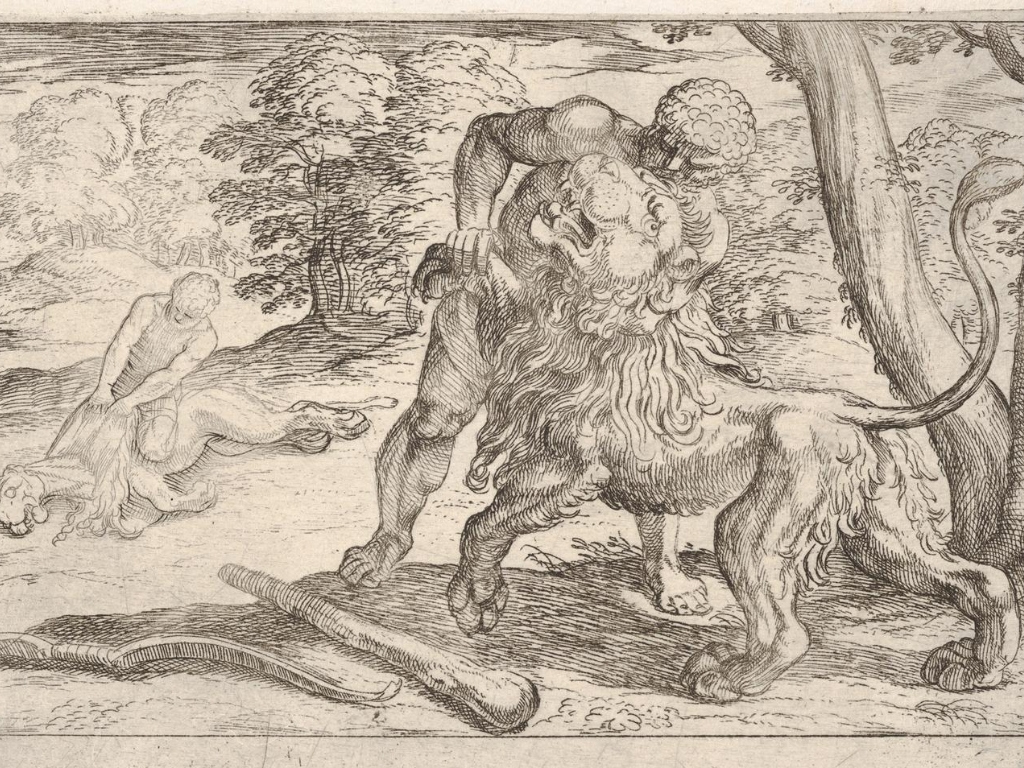 Hercules-and-the-nemean-lion