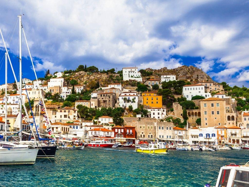 Hydra-greek-island-harbour