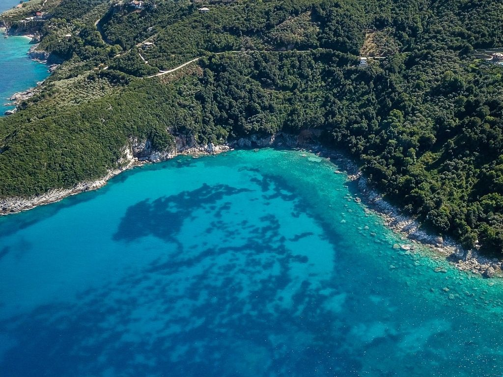 Aerial Photo Pelion Greece Things To Do