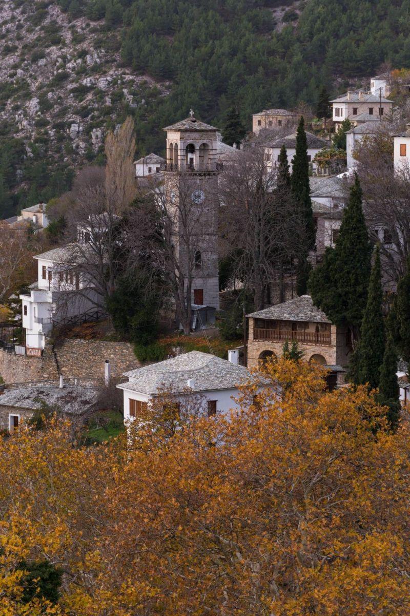 Makrinitsa Pilio Village Greece
