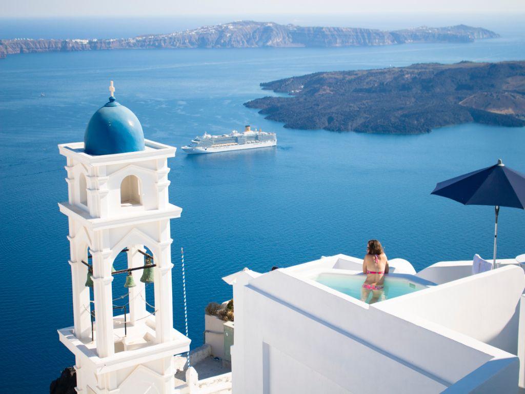 Santorini honeymoon