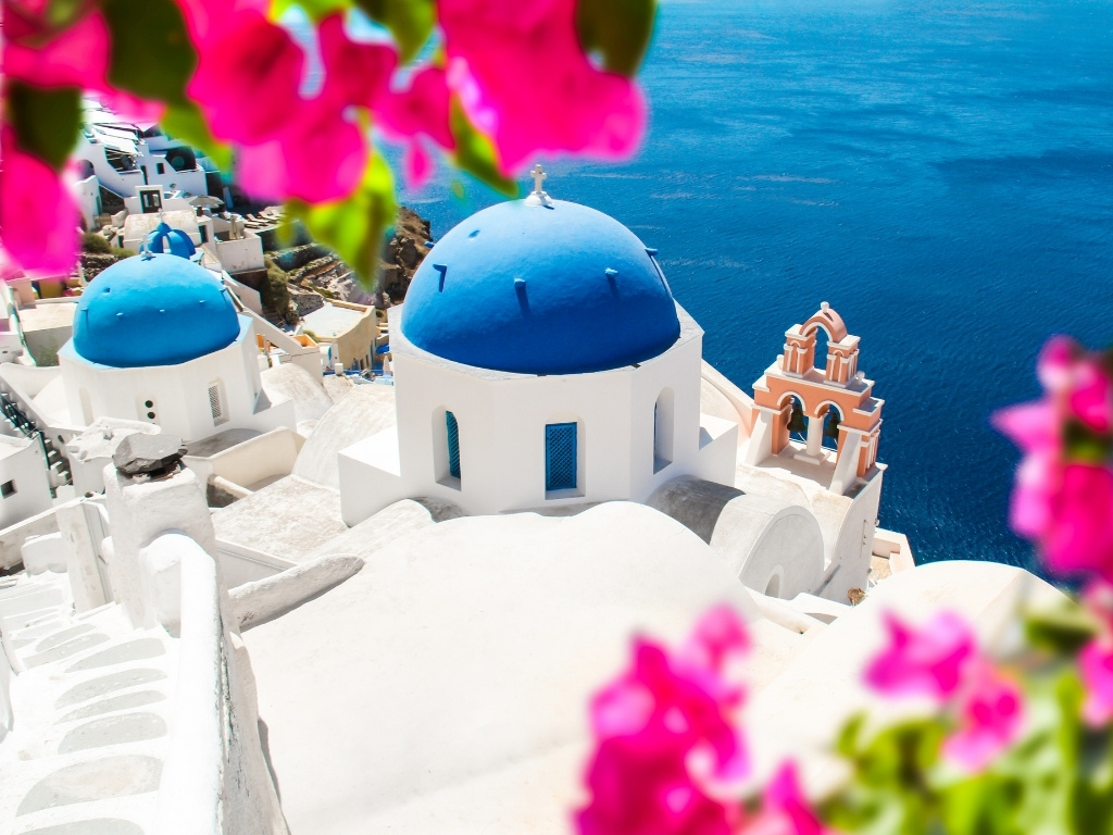 santorini-blue-dome-church