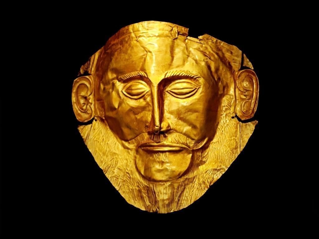 mask-of-agamemnon-ancient-greek-artwork