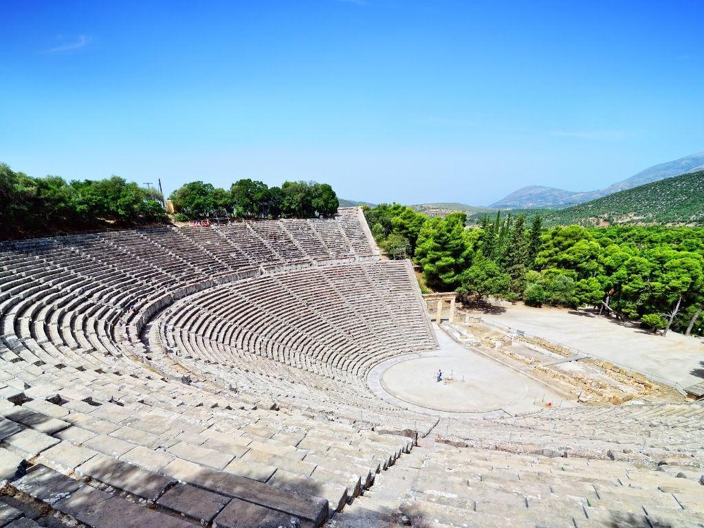 Theatre-of-Epidaurus-ancient-greek-sites
