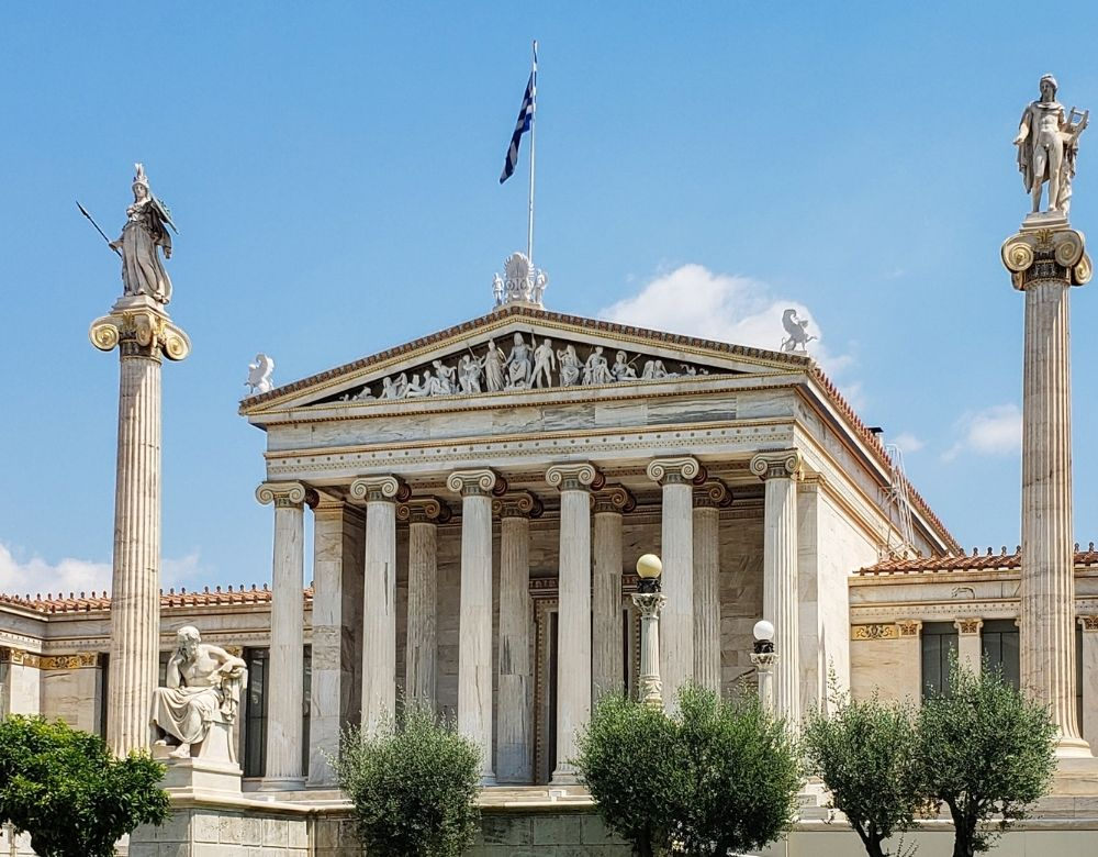 academy-athens-landmarks-in-greece