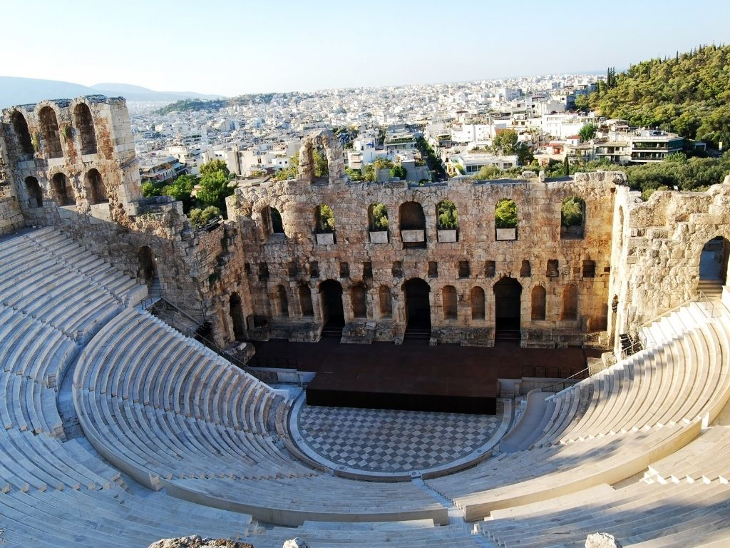 odeon-herodes-atticus-landmarks-in-athens